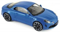 1/18 ALPINE VOITURE MINIATURE DE COLLECTION Alpine A110 Légende 2018-BLEU ALPINE-NOREV185312