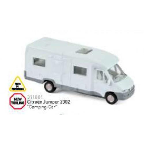 1 64 3inches miniature de collection citroen jumper camping car 2002 norevnor311001 vente de. Black Bedroom Furniture Sets. Home Design Ideas