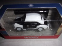 1/54 VOITURE 3-INCHES RENAULT 4CV POLICE NOREV RENAULT TOYS:319125