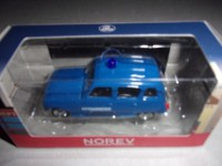1/54 VOITURE 3-INCHES RENAULT 4L 1964 GENDARMERIE-NOREV RENAULT TOYS:319125