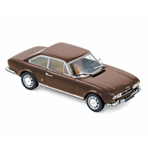 1 43 voiture miniature de collection peugeot 504 marron. Black Bedroom Furniture Sets. Home Design Ideas