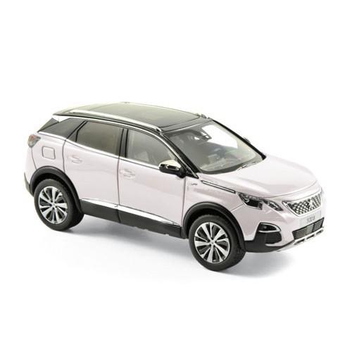 1 43 voiture miniature de collection peugeot 3008 gt blanc perl 2016 norevnor473883 vente de. Black Bedroom Furniture Sets. Home Design Ideas