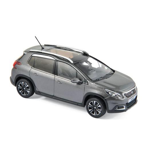 1 43 voiture miniature de collection peugeot 2008 gris platinium 2016 norevnor479848 vente de. Black Bedroom Furniture Sets. Home Design Ideas