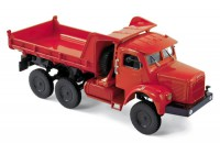 1/43 CAMION MINIATURE DE COLLECTION Berliet GBC 8 6x6 benne rouge-1958-NOREVNOR690012