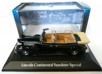 1/43 LINCOLN CONTINENTAL SUNSHINE SPECIAL F. ROOSEVELT, Conférence de Yalta 1945-NOREV