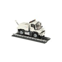 "1/50 CAMION MINIATURE DE COLLECTION MERCEDES-BENZ UNIMOG U400 ""ETF""NZG9104/03"