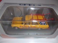 "1/43 VEHICULE MINIATURE DE COLLECTION PUBLICITAIRE PEUGEOT 504 BREAK ""PINDER""JEAN RICHARD""ODEON027"
