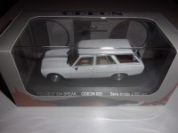 1/43 PEUGEOT 504 VOITURE MINIATURE DE COLLECTION PEUGEOT 504 BREAK BLANC-ODEON025