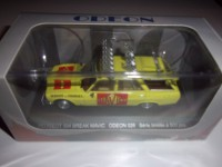 "1/43 VOITURE MINIATURE DE COURSES CYCLISTES  PEUGEOT 504 BREAK ""MAVIC""ODEON026"