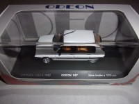 1/43 VOITURE MINIATURE DE COLLECTION CITROEN VISA II 1982 BLANC-ODEON007