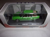1/43 VOITURE MINIATURE DE COLLECTION CITROEN CX 1975 VERT-ODEON011