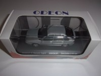 "1/43 VOITURE MINIATURE DE COLLECTION RENAULT R21 ""BACCARA"" ARGENT-1990-ODEON021"