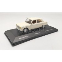 1/43 VOITURE MINIATURE DE COLLECTION PEUGEOT 204 1967 BEIGE-ODEON031