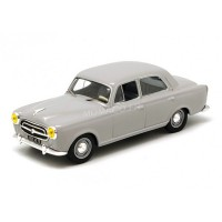 1/43 PEUGEOT VOITURE MINIATURE DE COLLECTION PEUGEOT 403 1956 GRIS-ODEON041