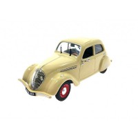 1/43 PEUGEOT VOITURE MINIATURE DE COLLECTION PEUGEOT 202 1938 BEIGE-ODEON045