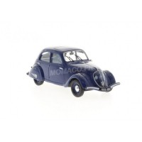 1/43 PEUGEOT VOITURE MINIATURE DE COLLECTION PEUGEOT 202 1938 BLEU FONCE-ODEON046