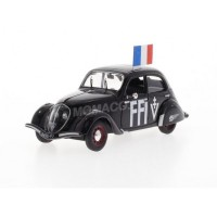"1/43 PEUGEOT VOITURE MINIATURE DE COLLECTION PEUGEOT 202 ""FFI""ODEON047"