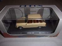 1/43 VOITURE MINIATURE DE COLLECTION RENAULT 6 TL 1974 BEIGE-ODEON012