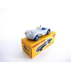 VOITURE MINIATURE DE COLLECTION ASTON MARTIN DB3 S GRISE - DINKY TOYS - NOREV-110