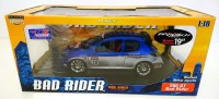 1/18 VOITURE MINIATURE DE COLLECTION PEUGEOT 206 GT TUNING BAD RIDER-NOREV184740