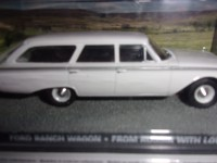 1/43 DIORAMA VOITURE FORD RANCH WAGON BON BAISERS DE RUSSIE JAMES BOND 007-IXO ALTAYA