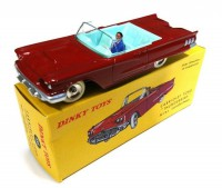 1/43 VOITURE MINIATURE DE COLLECTION FORD THUNDERBIRD CABRIOLET AVEC CONDUCTEUR-DINKY TOYS - NOREV