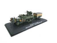 1/72 CAMION MILITAIRE M16 MGMC ET 1-TON TRAILER 447TH AAA BATTALION ARDENNES(BELGIUM)1945-DeAgostini