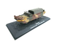 1/72 MILITAIRE MINIATURE DE COLLECTION DUKW 353 US MARINE CORPS IWO JIMA(JAPAN)-1945-DeAgostini