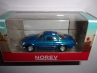 1/54 3 INCHES VOITURE MINIATURE DE COLLECTION RENAULT ALPINE A110 BLEU NOREV RETRO319201