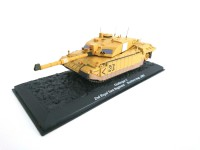 1/72 MILITAIRE CHALLENGER 2 2ND ROYAL TANK REGIMENT SOUTHERN IRAQ-2003- DeAgostini