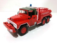 1/43 CAMION DE SECOURS POMPIERS ACMAT TPK641 6x6 FFL (1972)MINIATURE DE COLLECTION-SERIE PRESSE