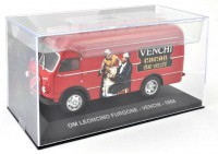 1/43 VEHICULES UTILITAIRES ITALIEN OM LEONCINO - FOURGON TRANSPORT CAFE-1954-IXO ALTAYA