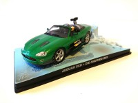 1/43 VOITURE MINIATURE DE COLLECTION Jaguar XKR JAMES BOND 007 Meurs un autre jour-Edition Altaya