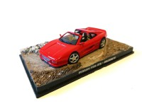 1/43 VOITURE MINIATURE DE COLLECTION Ferrari F355 GTS JAMES BOND 007 GoldenEye-Edition Altaya