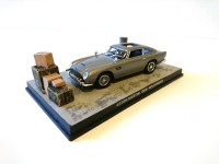 1/43 VOITURE MINIATURE DE COLLECTION Aston Martin DB5 JAMES BOND 007 Goldfinger-Edition Altaya