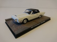 1/43 VOITURE MINIATURE DE COLLECTION Ford Thunderbird JAMES BOND 007 Goldfinger-Edition Altaya