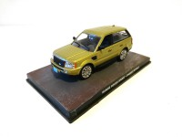 1/43 VOITURE MINIATURE DE COLLECTION Range Rover Sport JAMES BOND 007 Casino Royale-Edition Altaya