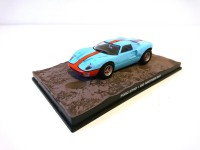 1/43 VOITURE MINIATURE DE COLLECTION Ford GT40 JAMES BOND 007 Meurs un autre jour-Edition Altaya