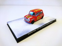 1/43 VOITURE AUSTIN MINI-ON HER MAJESTY'S SECRET SERVICE  JAMES BOND 007-Edition Altaya