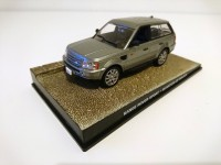 1/43 VOITURE MINIATURE DE COLLECTION Range Rover SPORT JAMES BOND 007 Quantum of Solace -Edition Altaya