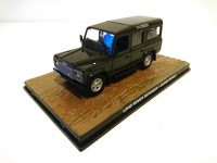 1/43 VOITURE MINIATURE Land Rover Defender 110 JAMES BOND 007 Casino Royale-Edition Altaya