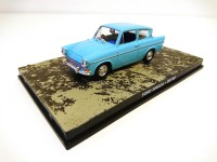 1/43 VOITURE MINIATURE DE COLLECTION Ford Anglia JAMES BOND 007 Dr. No-Edition Altaya