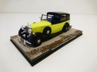 1/43 VOITURE MINIATURE Rolls Royce Phantom III-GOLDFINGER-JAMES BOND 007-Edition Altaya