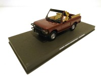 1/43 VOITURE MINIATURE Range Rover Convertible -OCTOPUSSY-JAMES BOND 007-Edition Altaya