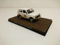 1/43 VOITURE Lada Niva VAZ 2121L THE WORLD IS NOT ENOUGH JAMES BOND 007 Edition Altaya