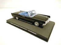 1/43 VOITURE MINIATURE Lincoln Continental Convertible-GOLDFINGER-JAMES BOND 007 Edition Altaya