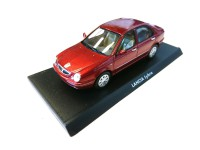 1/43 VOITURE MINIATURE ITALIENNE DE COLLECTION LANCIA LYBRA rouge-