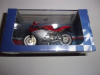 1/24 MOTO MINIATURE DE COLLECTION MV AUGUSTA 750 FA EDITION ATLAS