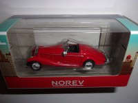 1/54 3 INCHES MERCEDES-BENZ 500K SPECIAL ROADSTER ROUGE NOREV RETRO319201
