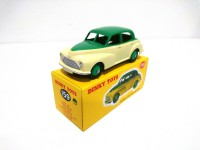 VOITURE MINIATURE DE COLLECTION Morris Oxford Saloon verte et jaune-159-NOREV DINKY TOYS